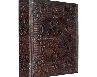 3 Ring Binder, Ancient Style Book, 4 Sizes Available!