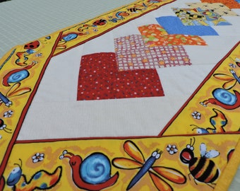 Buggy Quilted Table Runner
