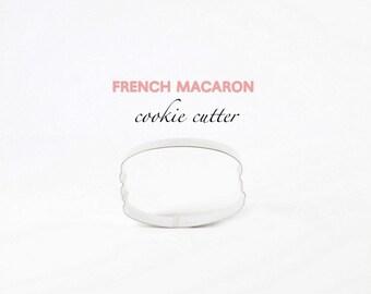 ORIGINAL French Macaron Cookie Cutter (Stainless Steel)- Macarons- Paris- Macaroon - Macaron Cookies