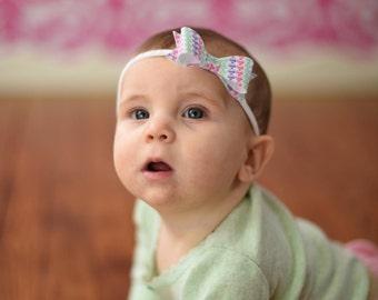 Heart Headband - Infant Headbands - Baby Headband Bows - Baby Hearts Headband - Holiday Headband Baby - Infant Valentine Headband