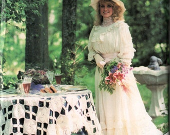 Vintage 1990s Heirloom Sewing for Women: French Sewing Bridal Blouse by Machine Martha Campbell Pullen Ph.D. Vintage Pattern supplement