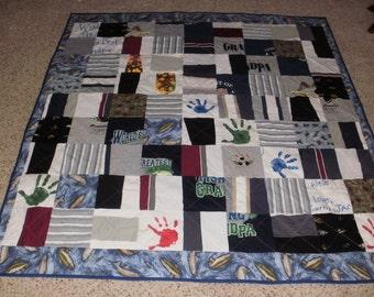 Custom Memory clothes quilt