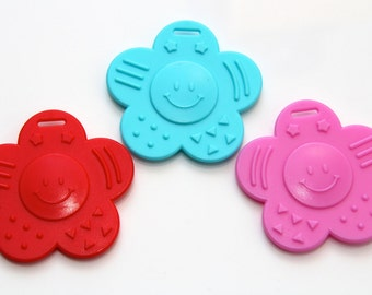 Ribbon Baby Teether Pack (3 of each colour)