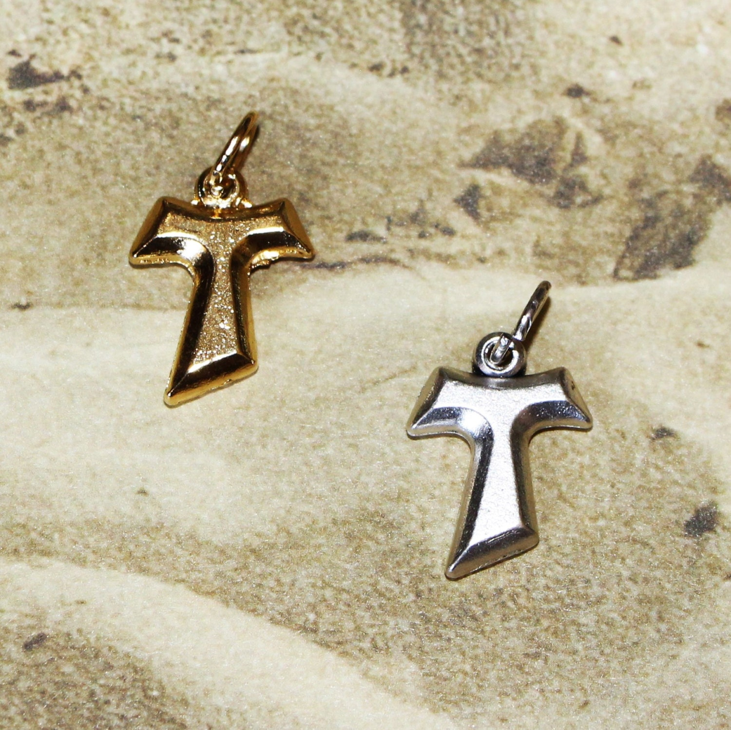 Tau cross pendant franciscan tau cross st anthony cross st 200 mozeypictures Image collections