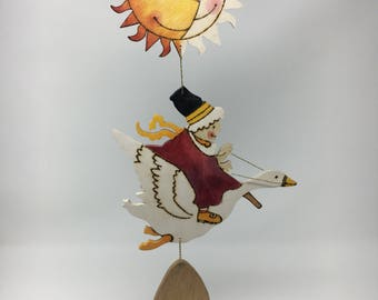 Mother Goose Wall Hanging