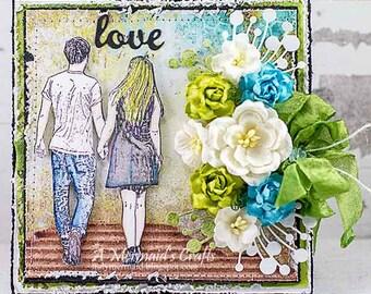Shabby Chic Love Card