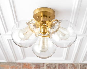 Flush mount ceiling Etsy