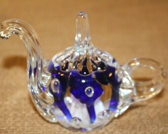 Collectible Joe Rice Teapot Ring Holder