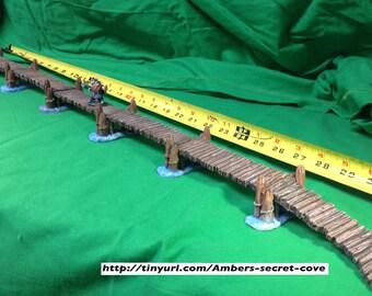 Bridge/Dock Modular Set HANDPAINTED 28mm