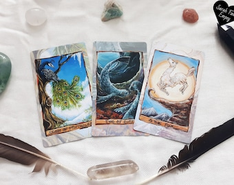 Animal Tarot Reading | Animal Spirit Guides | Intuitive Tarot Wisdom Through an Animal-Centered Tarot Reading