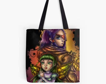 Steampunk gears tote bag steampunk wedding gift steampunk bag neo victorian fantasy bag steampunk girl dieselpunk steampunk bridesmaid gift