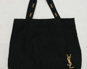 Vintage Yves Saint laurent Perfume Tote Bag