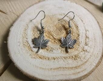 Earrings Maple
