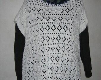 Woman's Lacy Poncho / Tunic