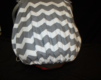 Fitted Elastic Back for Carseat Canopy..Add this to any cover..This listing if only for the fitted elastic to be added