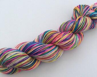 Holi Festival - hand dyed yarn 3.5 oz 437 yds