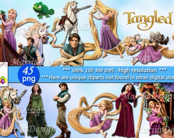 Tangled Clipart - 45 PNG, 300 Dpi, Tangled png, Tangled clip art, Tangled transparent, rapunzel clipart, rapunzel png, rapunzel clip art