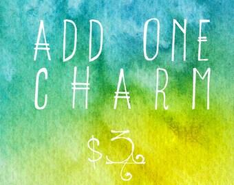 Add One Charm