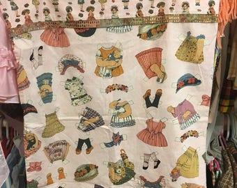 Paper Doll Pillowcase