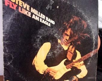 Steve Miller Band Fly Like an Eagle LP Capitol original 1st USA press VG-