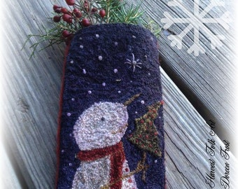 Pattern: Punch Needle- Wish Upon a Star by Doreen Frost for Vermont Harvest Folk Art