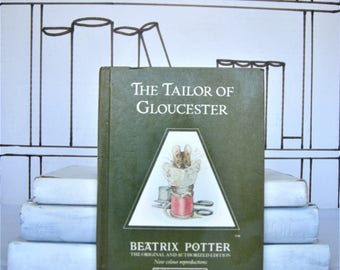 The Tailor of Gloucester by Beatrix Potter (Vintage, Christmas)