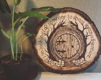 Hobbit Door Woodburn