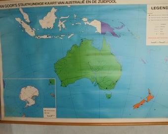 vintage school pull by van Goors of Australia [on plastic ]