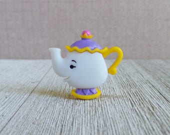 Mrs. Potts - Beauty and the Beast - Teapot - Chip - Disney - Gift Idea - Lapel Pin