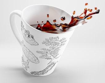 Nudibranch 12 Oz Latte Mug