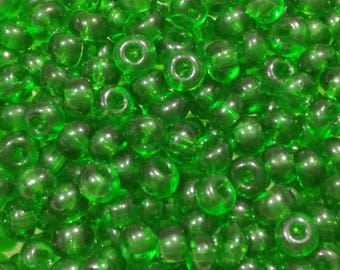 20g Green seed beads (bag with 20g), green tone, tiny beads, small beads,jewelry supplies, 4mm beads,glass beads (GB27)