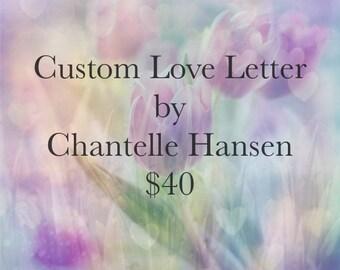 Custom Love Letter