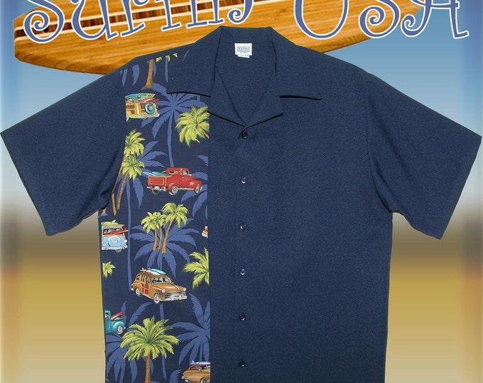 Bowling Shirts - Free Shipping - Hawaiian Surfin USA Design