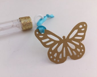 Cinderella Bubble Wands: 6+ Cinderella Party Favors/ Butterfly Party Favors, Cinderella Party Supplies