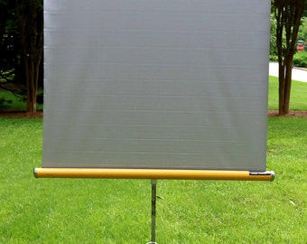 Vintage Knox Panorama Projector Screen