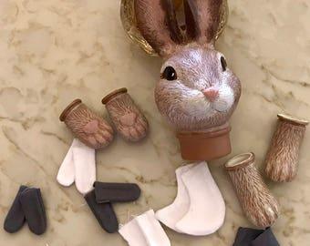 Bunny Rabbit Doll Kit