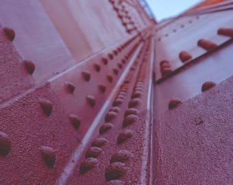 Photographie Détail Golden Gate Bridge - San Francisco