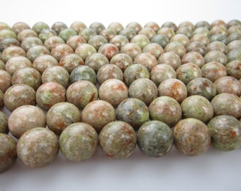 Natural Jasper Gemstone Round Loose Beads Clearance 14mm.R-S-JAS-0250