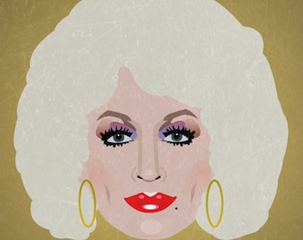 Minimalist Print inspired by Dolly Parton