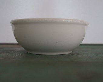 Ironstone Cereal Bowl