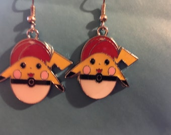 Pikachu Pokemon Earrings    H14