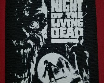 Night Of The Living Dead Cloth Punk Patch