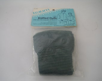 1960's Traum Vintage Knitted Cuffs-Never Opened-Unused-Collectible-Sewing