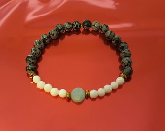 Henri Obsidian bracelet