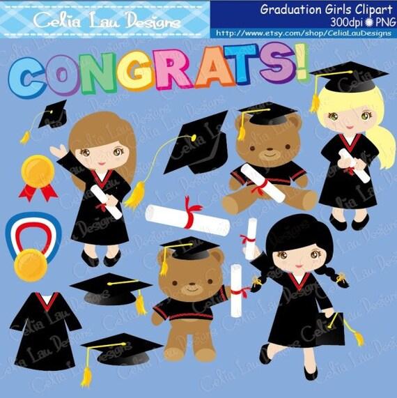 Graduation Clipart ,Preschool, Kindergarten graduation ...