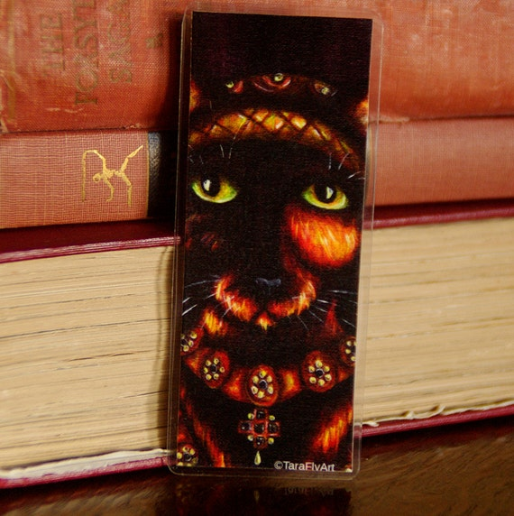 Anne of Cleves Tortoiseshell Cat Tudor Bookmark