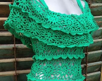 green summer dress, bohemian clothing, beach cover up, going out dresses, party dress, summer dress, organic cotton dress, semi formal dress