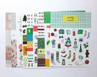 9 sheets Sticker Pack Planner Sticker