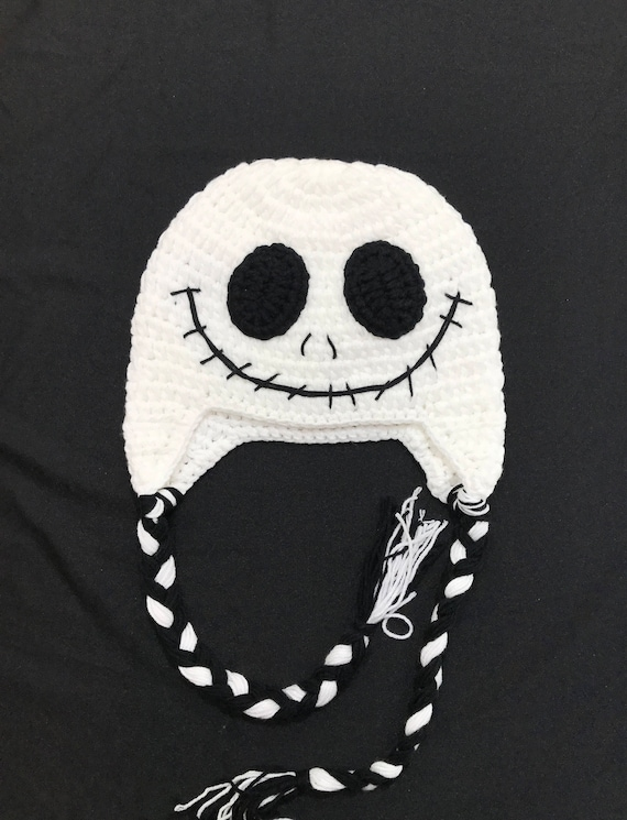 Jack Skellington Jack Jack Crochet Hat Jack Skellington