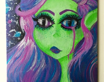Sad Cosmic Princess